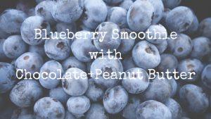 blueberry-smoothie-chocolate